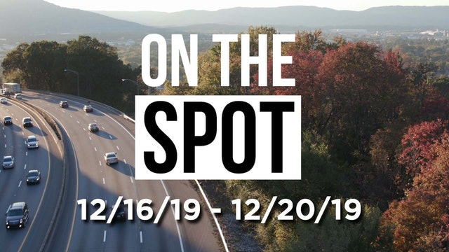 On the Spot: Volumes get a holiday pop 12/20/19