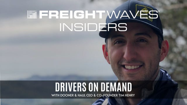 Drivers on demand with Haul CEO & Co-...