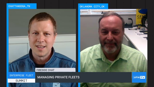 Managing private fleets
