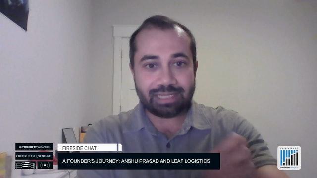 A founder's journey: Anshu Prasad and Leaf Logistics