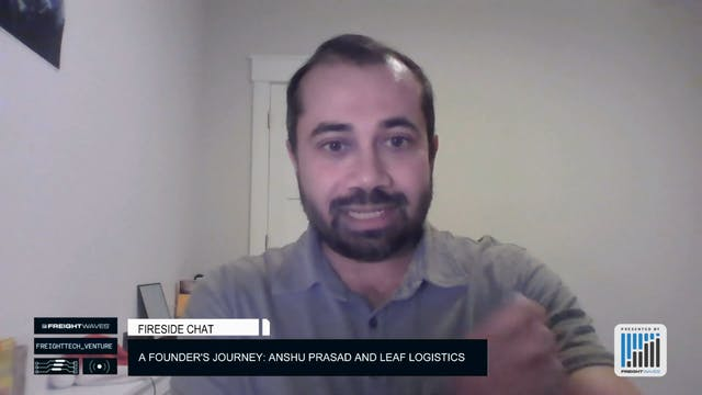 A founder's journey: Anshu Prasad and...