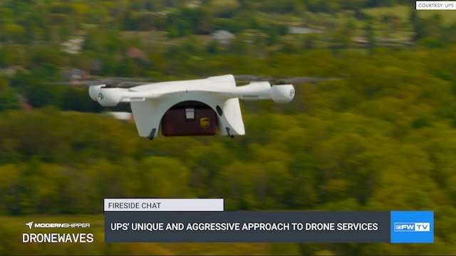 UPS' unique and aggressive approach to drone services