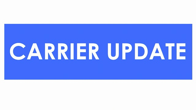 Ida's impact begins in the south - Carrier Update