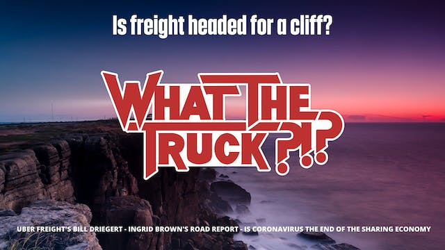 Is freight headed for a cliff? - WHAT...