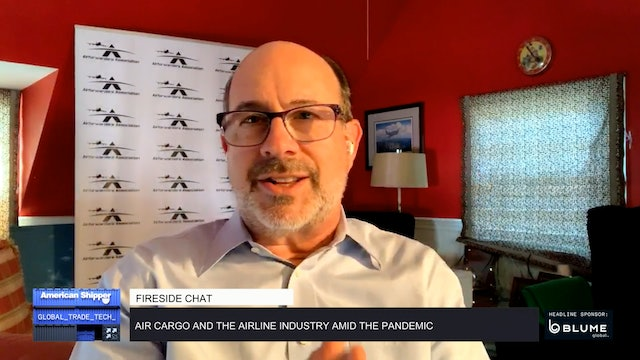 Air cargo and the airline industry amid the pandemic - GTT Fireside Chat