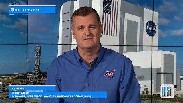 """Space: Our Next """"Last Mile"""" - Keynote with Mark Wiese of NASA"""