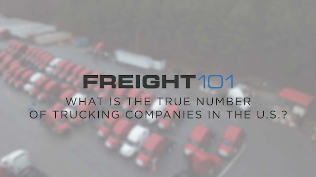 What is the true number of trucking companies in the U.S.? - Freight101