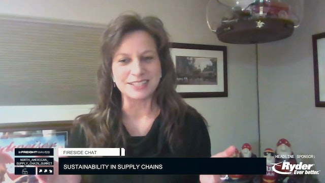 Fireside Chat: Sustainability in supply chains