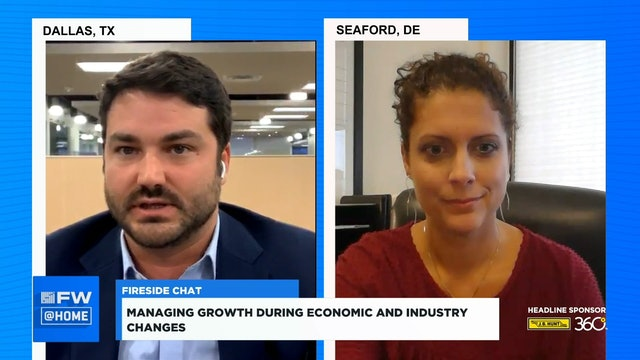 Managing growth during economic and industry changes