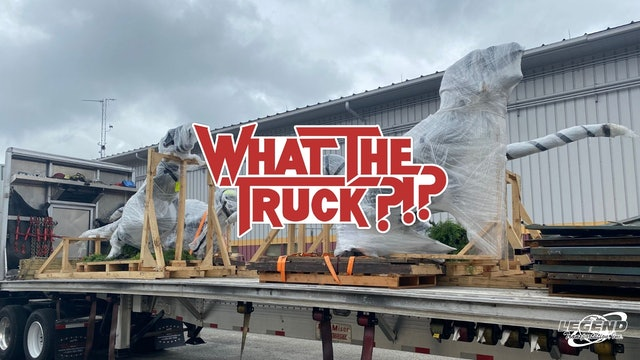 Jurassic freight: How to haul a raptor - WHAT THE TRUCK?!?