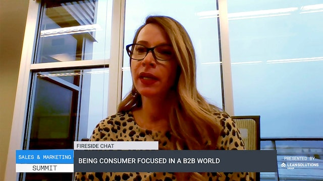 Being consumer focused in a B2B world
