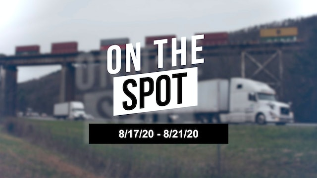 Imports and intermodal issues driving West Coast rates - On the Spot 08/21/20