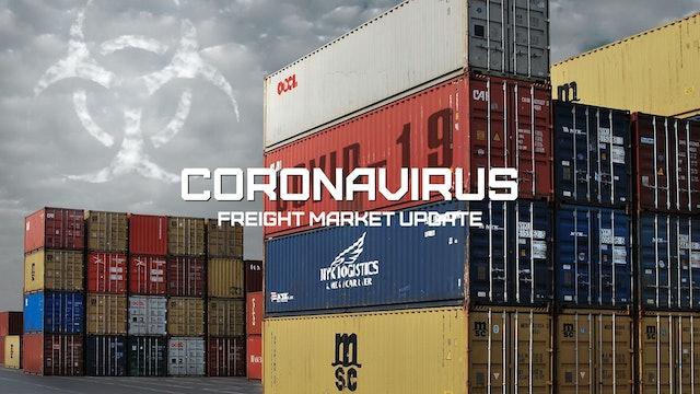 Jobless claims and port disruptions - Coronavirus Freight Market Update