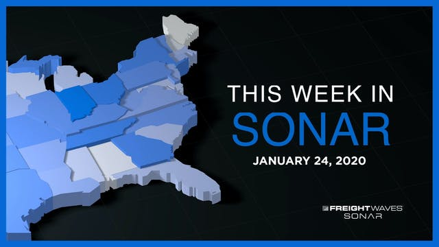 This Week in SONAR: January 24, 2020