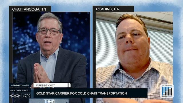 Penske Gold Star Carrier for Cold Chain Transportation