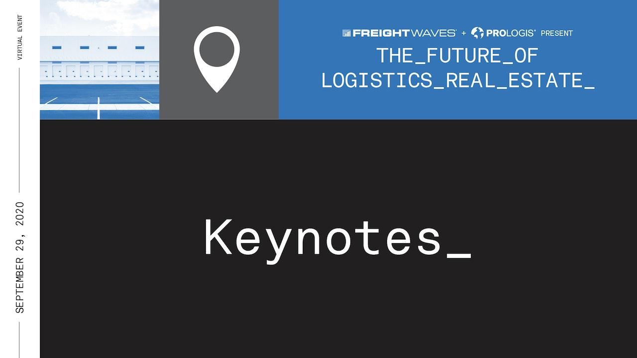 Keynote: Future of Logistics Real Estate Summit