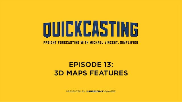 3D Maps Features - QuickCasting