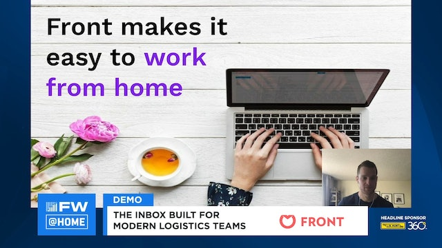 FreightWaves LIVE @ HOME Front Demo