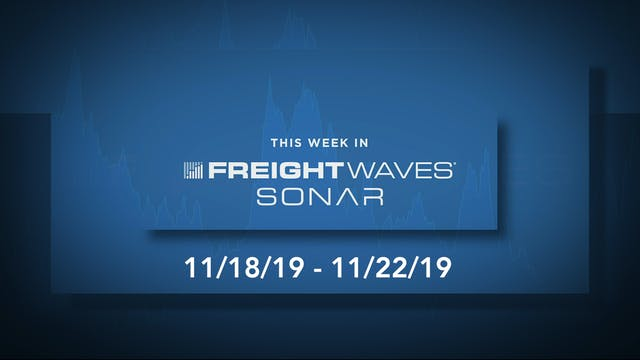 This Week in SONAR: November 22, 2019
