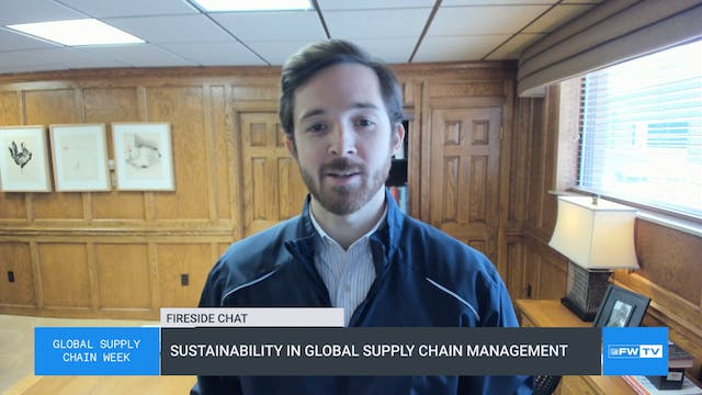 Sustainability in global supply chain...