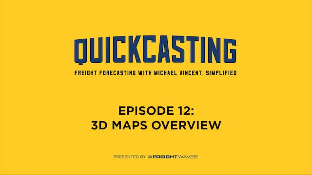 3D Maps Overview - QuickCasting