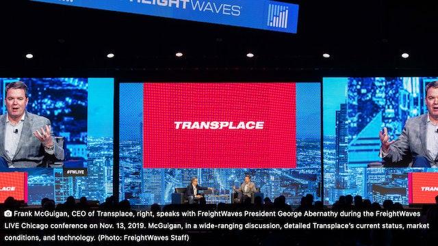 FreightWaves LIVE Chicago: Frank McGuigan - Transplace