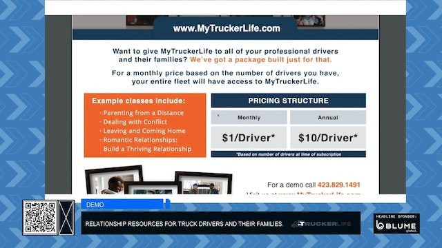 Demo: MyTruckerLife by SeatMyTrucks and First Things First