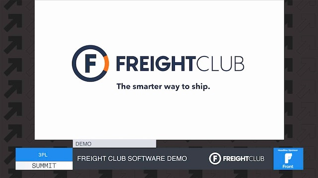 Freight Club Software Demo