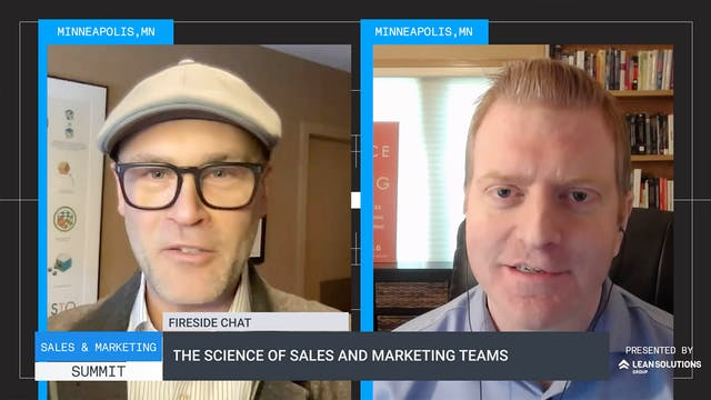 The science of sales and marketing teams