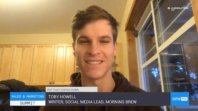 How Morning Brew wakes up your social selling - Put That Coffee Down