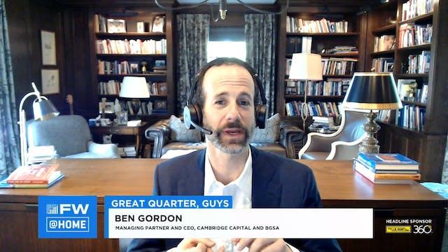 Great Quarter, Guys - FW LIVE @HOME