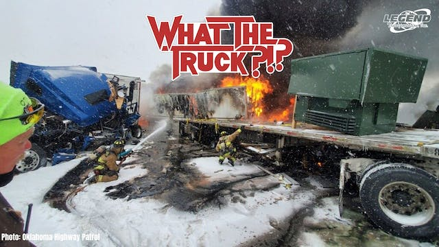 Ice storms slam truckers - WHAT THE T...