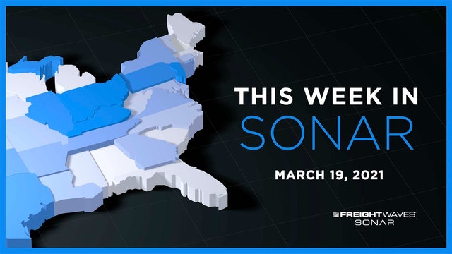This Week in SONAR: March 19, 2021