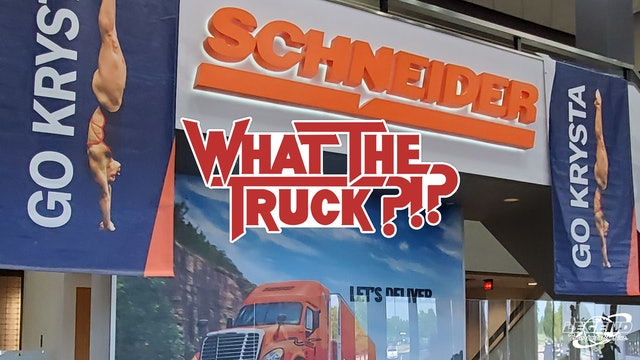 Schneider driver's daughter dives into the Olympics - WHAT THE TRUCK?!?