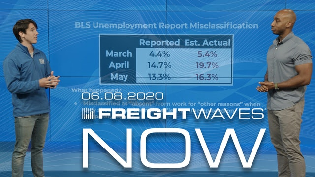Tender rejections inch higher over the weekend - FreightWaves NOW