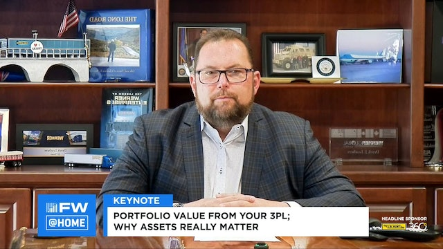Keynote: Portfolio value from your 3PL; Why assets really matter