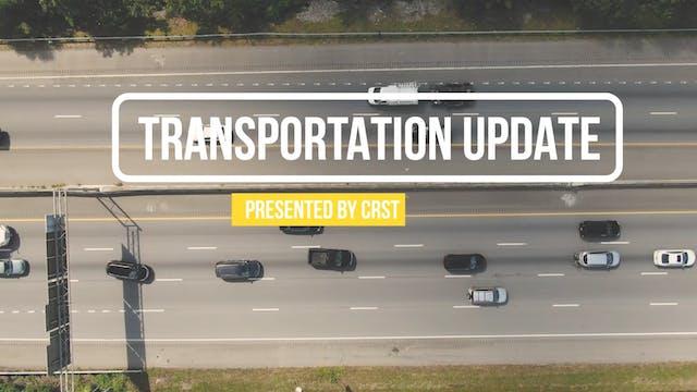 Transportation Update with Brett Sadd...