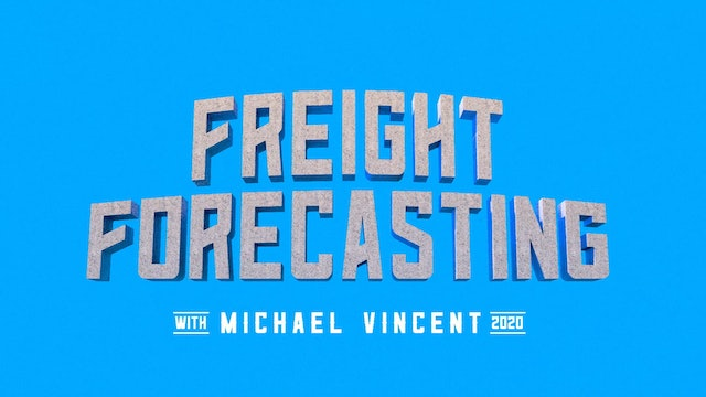 Forecasting the volumes and capacity moving forward - Freight Forecasting