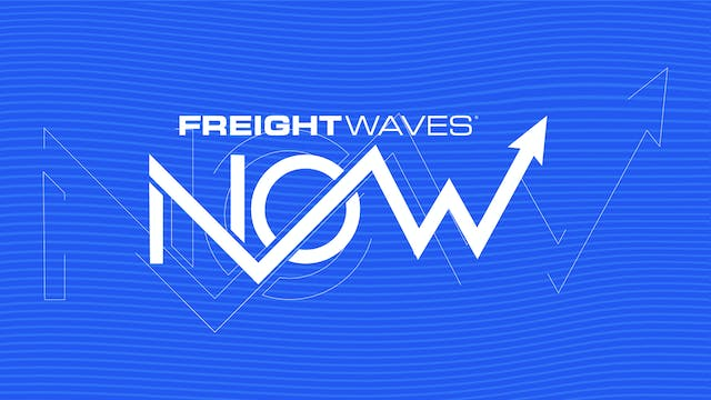 Pipeline health check - FreightWaves NOW