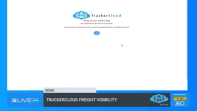 TruckerCloud Freight Visibility - Demo