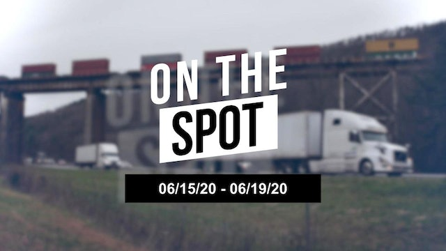Volumes are sustained and tender rejections increase - On the Spot 06/19/20