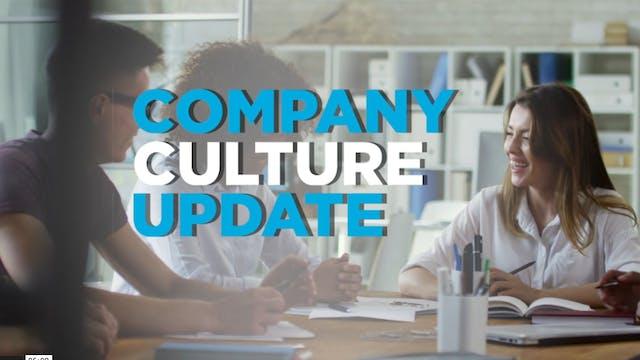 Company Culture Update: Using technol...