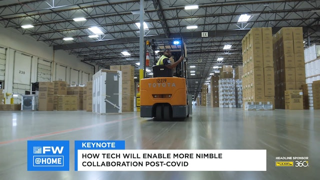 Industry Keynote: How Tech Will Enable More Nimble Collaboration Post-COVID-19