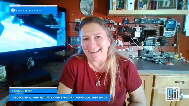 Geopolitical and Security Concerns of Commercializing Space - Fireside Chat