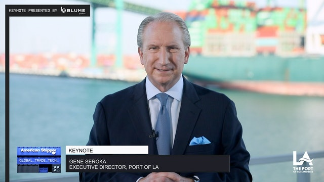 Sharing data: Improving maritime supply chain for the greater good - GTT Keynote