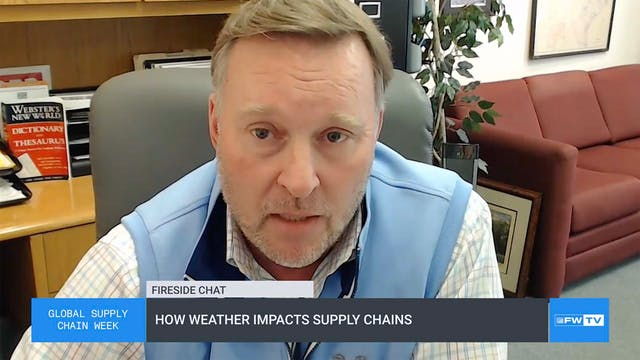 How weather impacts supply chains