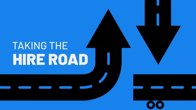 Inspiring Leadership Towards a Greater Future - Taking the Hire Road