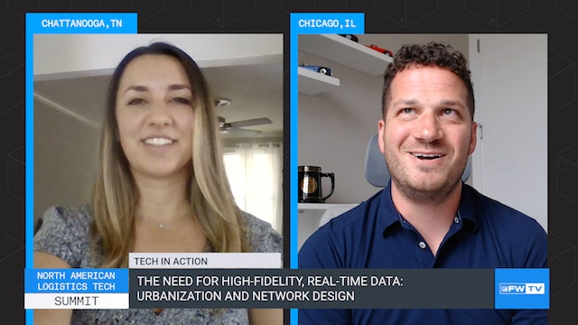 Need for high-fidelity, real-time data: urbanization and network design