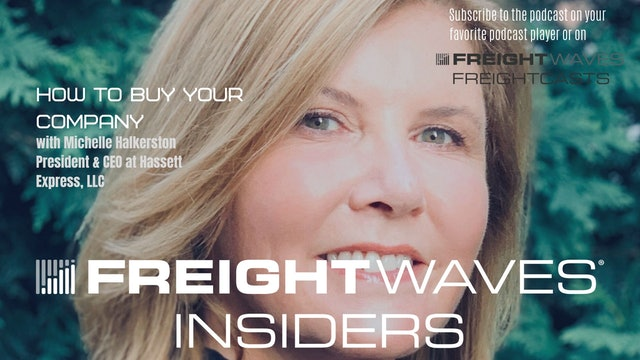 Michelle Halkerston, CEO at Hassett Express - FreightWaves Insiders