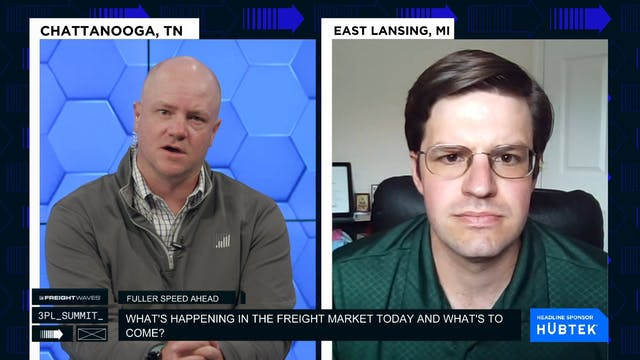The freight market today and what's t...